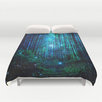 magical path Duvet Cover by Haroulita