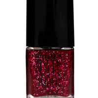Ruby Red Glitter Nail Polish
