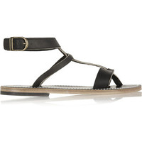 Tahari May Leather Sandal