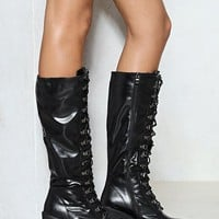 Rise to the Challenge Vegan Leather Boot