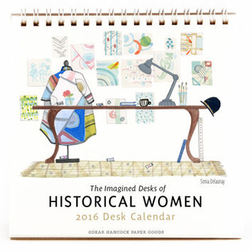 2016 Historical Women's Desk Calendar