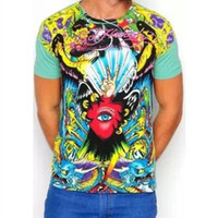 New 2013 Fashion ed hardy CA t shirt Men's short sleeve t shirt brand men't tshirt Men's blouses & shirts Free Shipping
