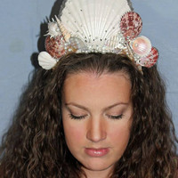 Professional High Quality Dramatic Mermaid Crown