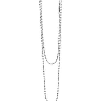 LAGOS Caviar Talisman Beaded Cage Ball Pendant Necklace | Nordstrom