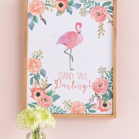 Stand Tall Darling Framed Wall Decor