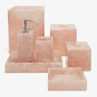 Mike + Ally Bath Accessories Rose Quartz