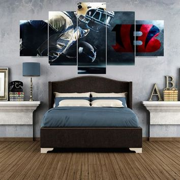 Sport Poster Paintings Cincinnati Bengals Modern Home Decor Living Room Bedroom Wall Art Canvas Print Painting Calligraphy