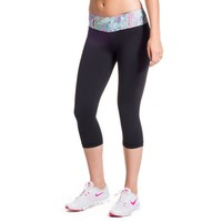 Cropped Run Runner Leggings in Scaled Back by Krass & Co.