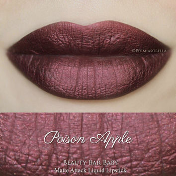 Poison Apple Liquid Lipstick Matte Metallic Liquid Lipstick