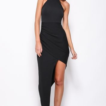 Key To The City Maxi Dress Black