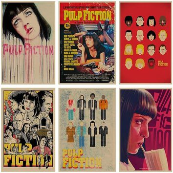 Pulp Fiction Retro Poster