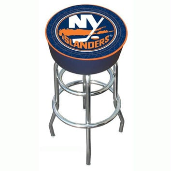NHL New York Islanders Padded Bar Stool