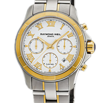 Raymond Weil Parsifal Mens Chronograph Automatic Watch 7260-SG-00308