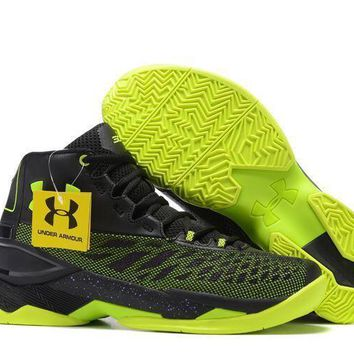 Under Armour Men S Sc30 Stephen Curry 3.5 Black/green Sport Sneaker - Beauty Ticks