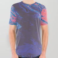 vicarious All Over Graphic Tee by duckyb