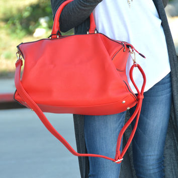 The Alyssa Bag - Red