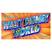 Walt Disney World Resort Beach Towel