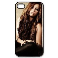Miley Cyrus iPhone 4/4s Case Hard Cover Protective Back Fits Case PC3454