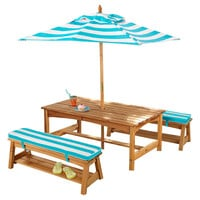 One Kings Lane - The Playroom - Under-the-Sun Table & Bench Set