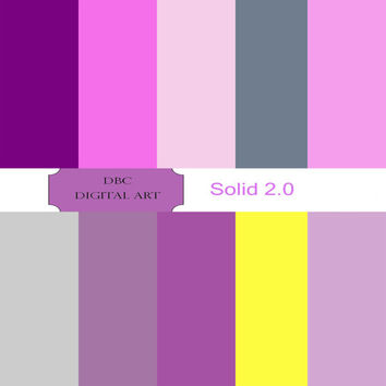 Purple, Slate Gray, Silver, Pink, Yellow Digital Paper, Scrapbooking, Scrapbooking paper Invitation, Background, Cards, Stickers