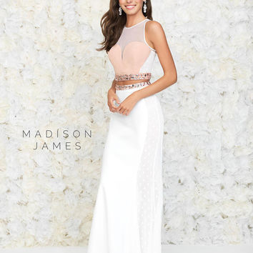 Madison James 15-102 Two Piece Prom Dress or Evening Gown