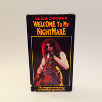 Alice Cooper - Welcome To My Nightmare VHS 1975