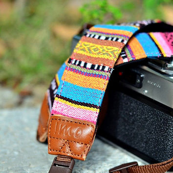 Native Village Camera Strap suits for DSLR / SLR with Quick Release Buckles