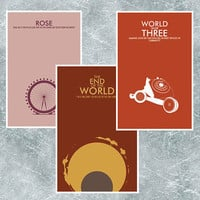 Any 3 Doctor Who Poster Collection Choose by ModernStylographer