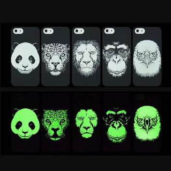 Luminous Light Up iPhone creative cases for 5S 6 6S Plus Free Shipping