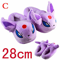 Pokemon Espeon Plush Slippers
