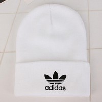 Adidas Fashion Edgy Winter Beanies Knit Hat Cap-8