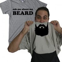 beardt shirt | turn into a beard filp tshirt