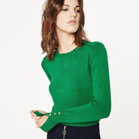KNIT SWEATER - View All-KNITWEAR-WOMAN | ZARA United Kingdom