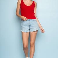 Danielle Knit Tank - Tanks & Halters - Tops - Clothing