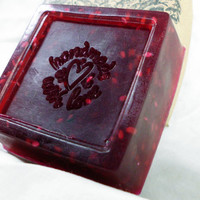 Handmade Olive Oil Soap Bite Me scented with by BlackWillowSoaps