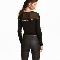 H&M Bodysuit with Rhinestones $49.99