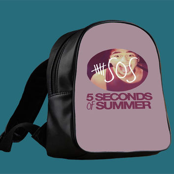 5SOS Calum for Backpack / Custom Bag / School Bag / Children Bag / Custom School Bag *