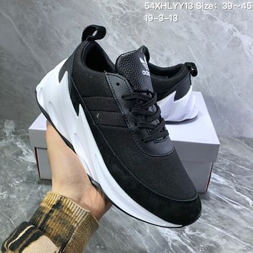 DCCK2 A1001 Adidas Sharks Concept Fashion Casual Running Shoes Black
