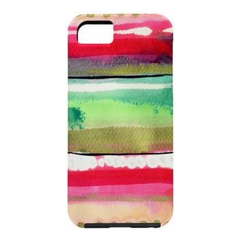 CayenaBlanca Ink Stripes Cell Phone Case
