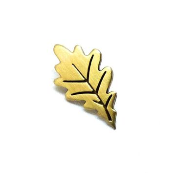 Gold Leaf Pin