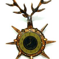 Aakashi Deer Shaped Clock