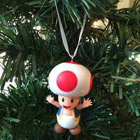 Mario Ornament - Toad
