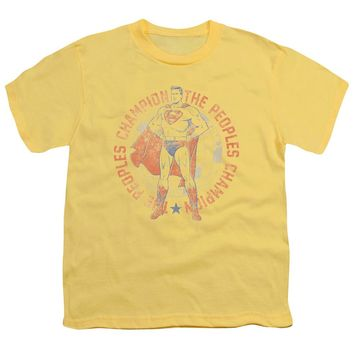 Superman - Peoples Champion Short Sleeve Youth 18/1