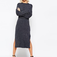 Weekday Star Knit Sparkle Tunic