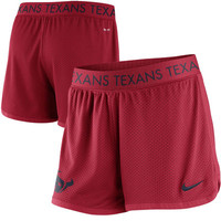 Houston Texans Nike Women's Ultimate Mesh Shorts – Red