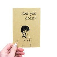 Joey Tribbiani notebook - How you doin journal - Matt Le Blanc - Friends