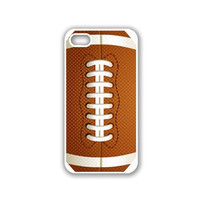 American Football iPhone 5 White Case - For iPhone 5/5G White - Designer TPU Case Verizon AT&T SprintSprint