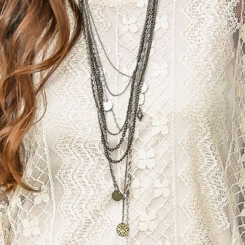 Make Time For It Necklace