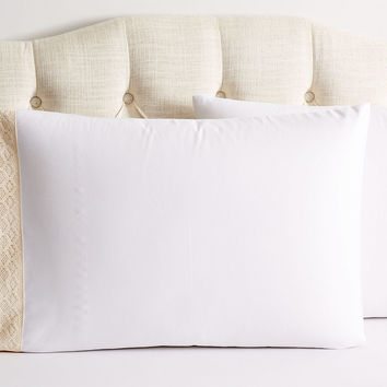 Crochet Shams, Beige, Pillow Cases