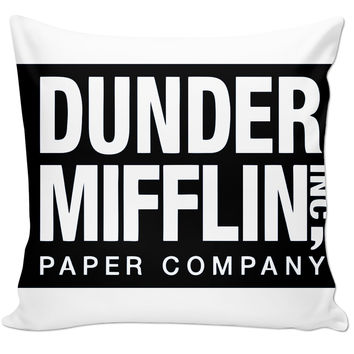 Dunder Mifflin Pillow